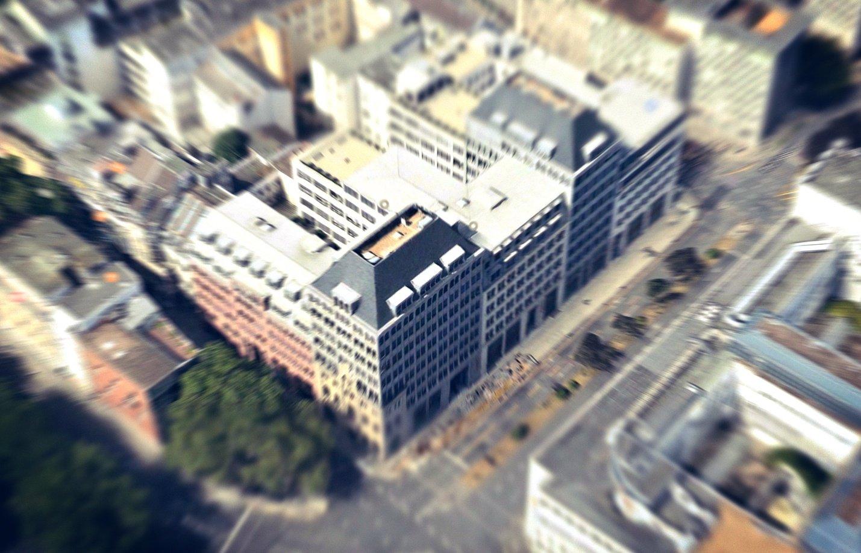 Luftbild vom Dominium Köln
